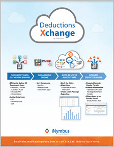 DeductionsXchange Features and Benefits Data Sheet