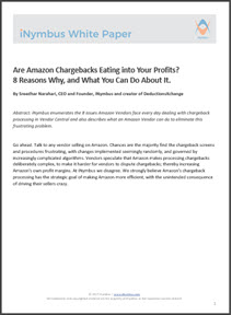 inymbus white paper amazon chargebacks eating into your profits dec 2017